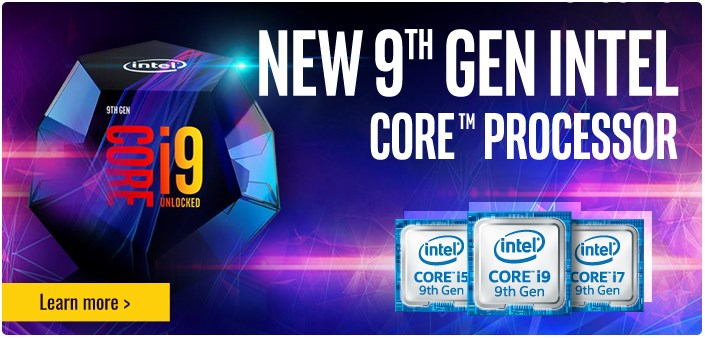 New 9th GEN Intell core processor